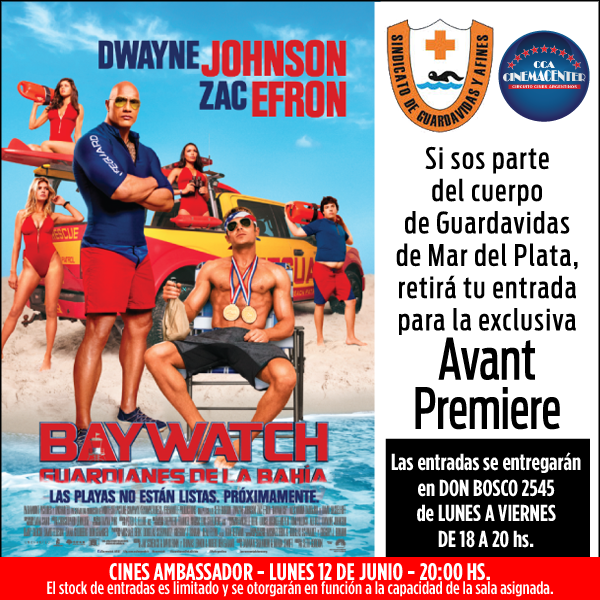 FB CINEMACENTER Y SINDICATO baywatch mdp mayo